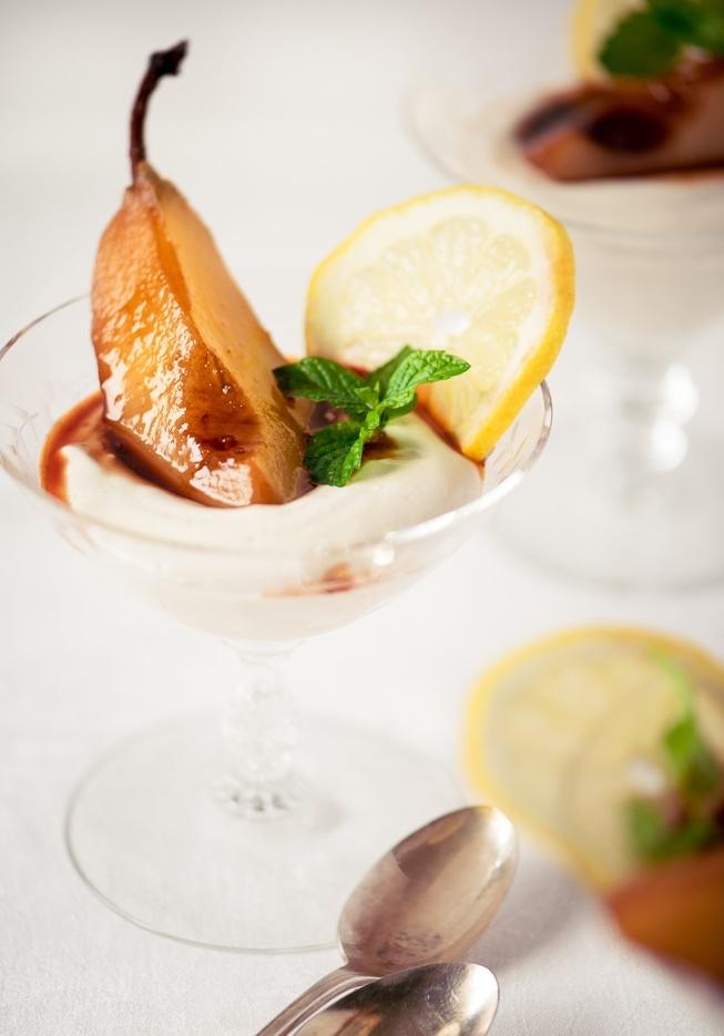 Iced Tea Pears