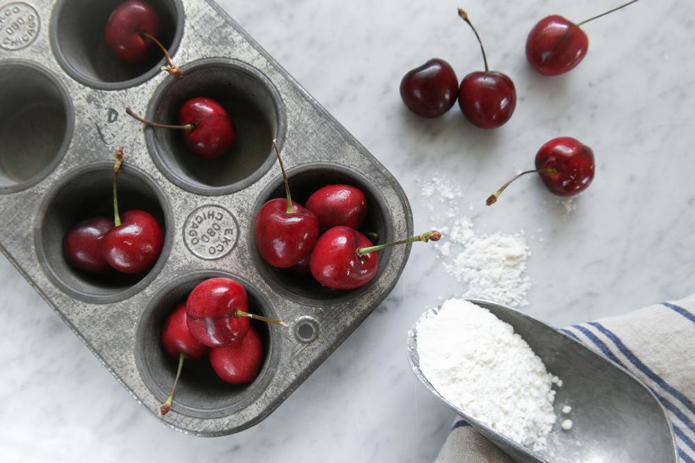 Cherry Muffins