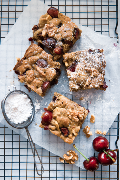 Cherry Walnut Cake