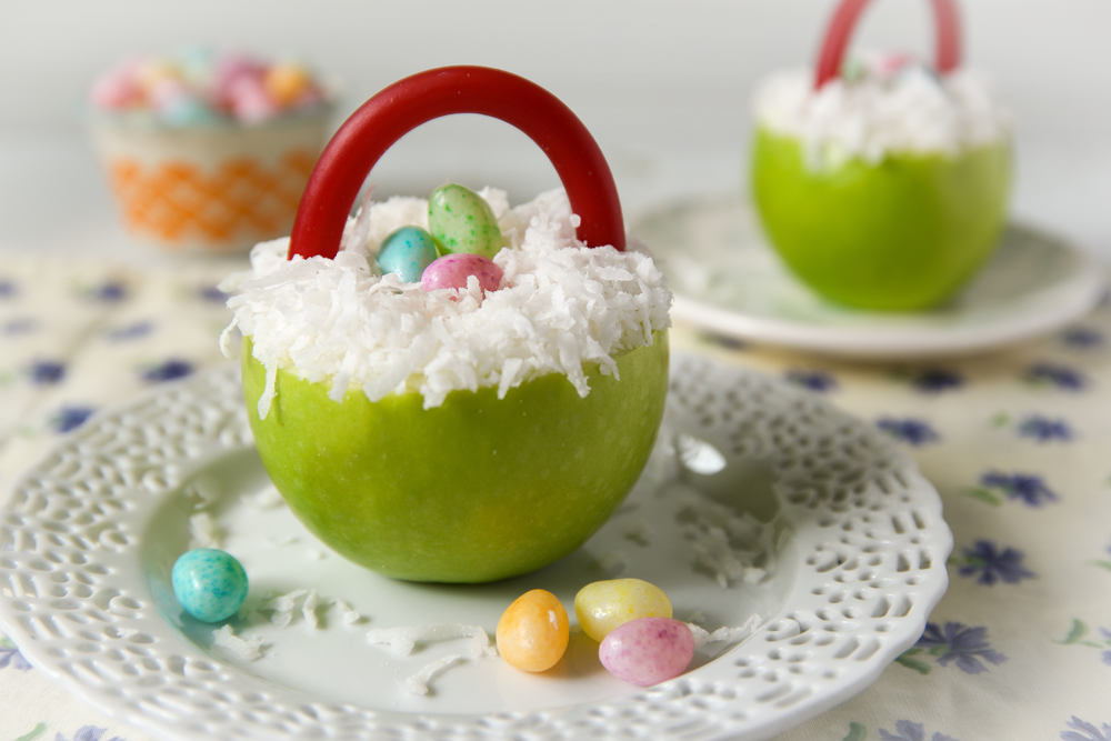 Apple Easter Baskets