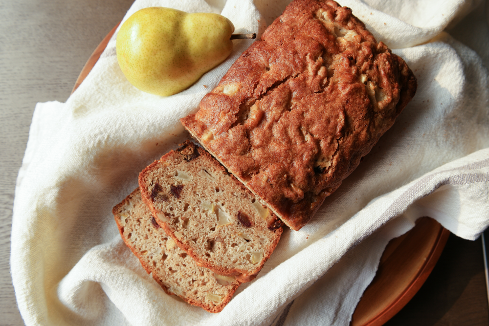 Pear Date Bread