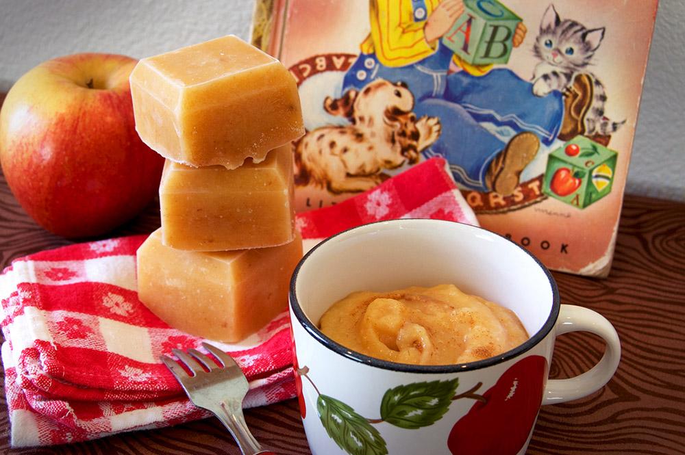 Apple Oat Sweet Potato Baby Food