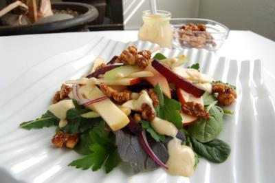 Apple Roasted Beet Salad