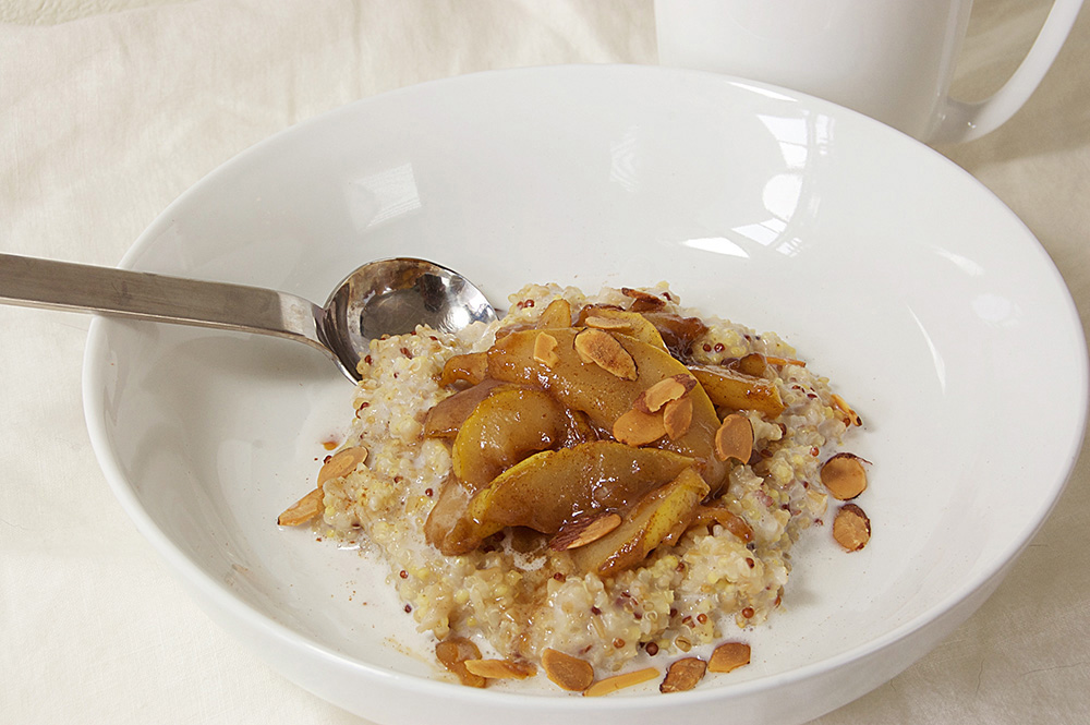 Caramelized Pear Breakfast Bowl