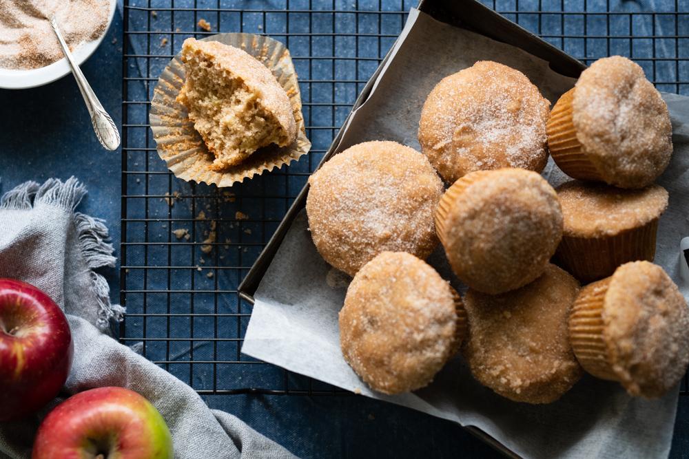 Apple Donut Muffins