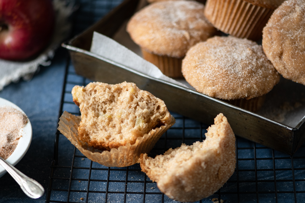 Apple Donut Muffins