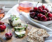 Cherry Wine Cheese Pairing
