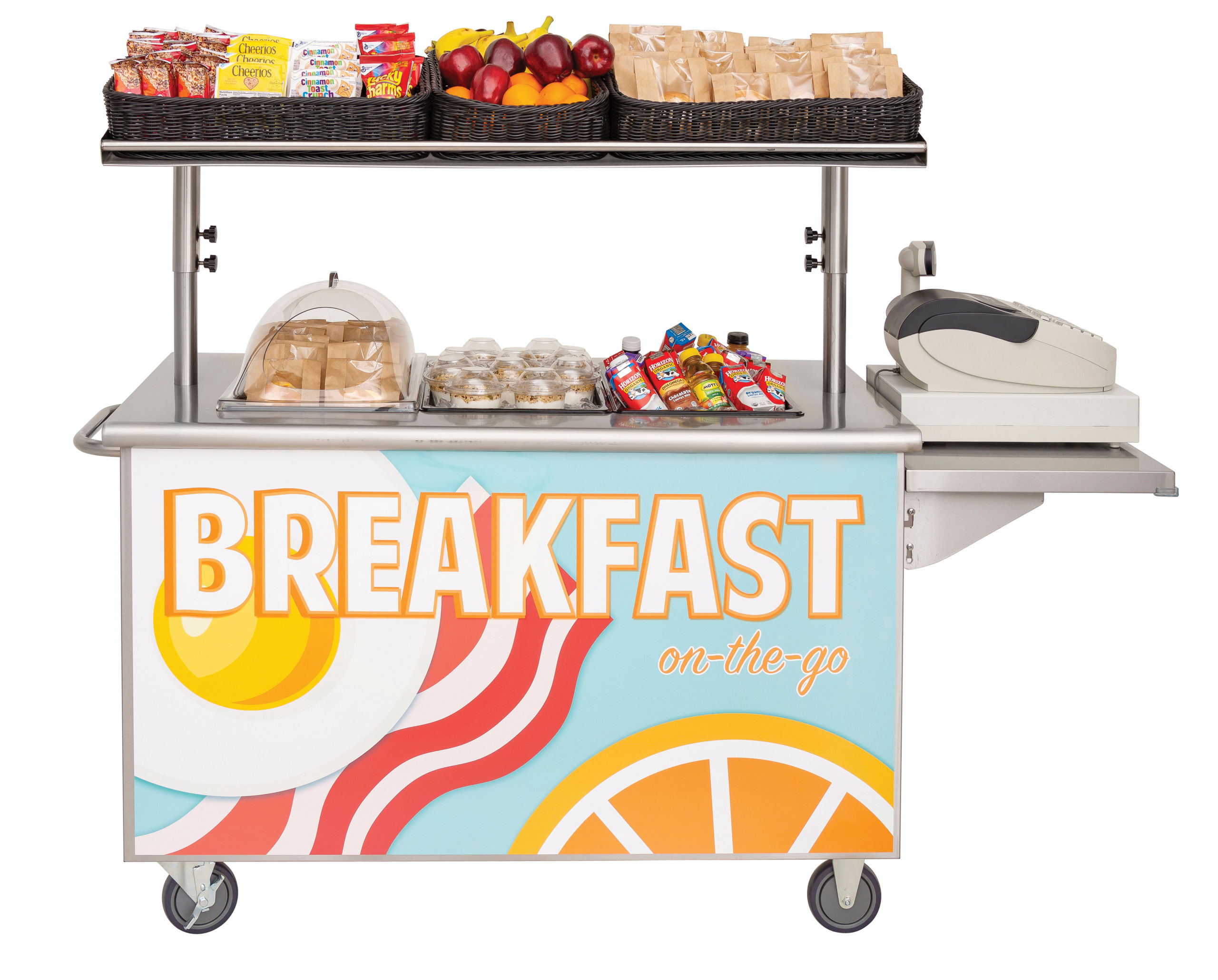 Meal carts are increasing student access to more nutritious food choices in schools